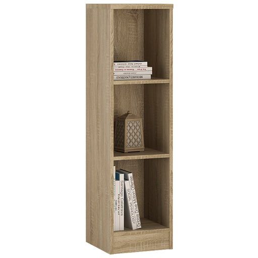 4 You Medium Narrow Bookcase Oak
