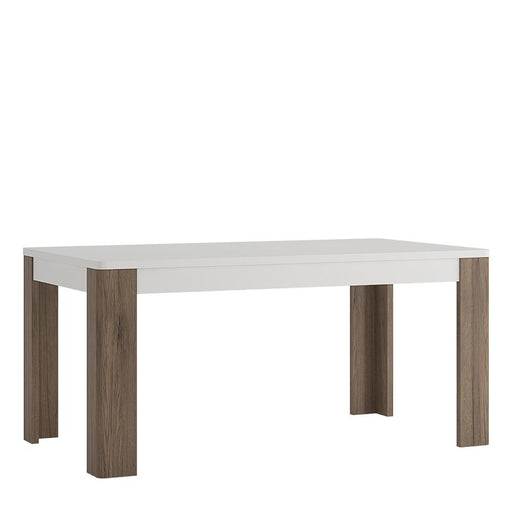 Toronto 160cm Dining Table White