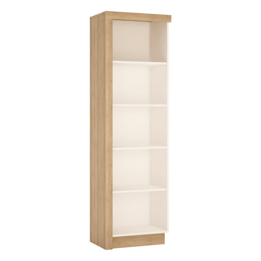Lyon Bookcase (RH) Oak/White