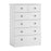 Hampshire 2 plus 4 chest of drawers White