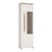 Toledo 1 door display cabinet (RH) White