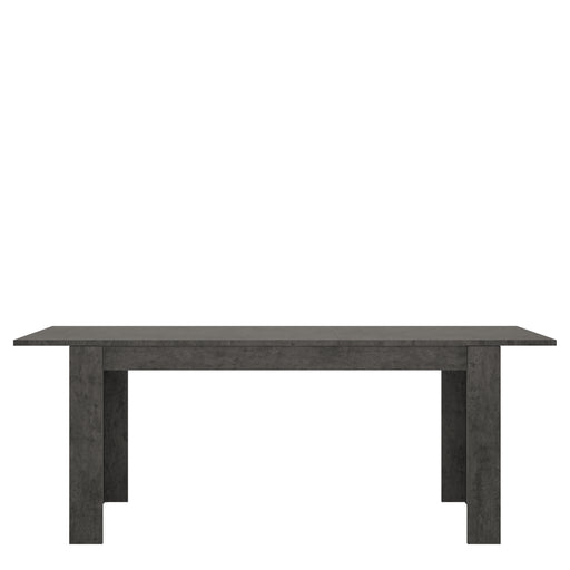 Zingaro Dining table Slate Grey/White