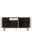 Brolo 3 door 1 drawer wide sideboard Walnut