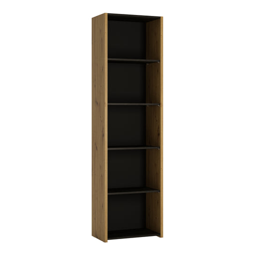 Aviles Bookcase - 4 Shelves Oak