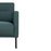 Larvik 2.5 Seater Sofa - Dark Green, Black Legs