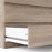 Naia Chest of 3 Drawers in Truffle Oak