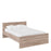 Naia Naia Double Bed 4ft6 (140 x 190) in Truffle Oak
