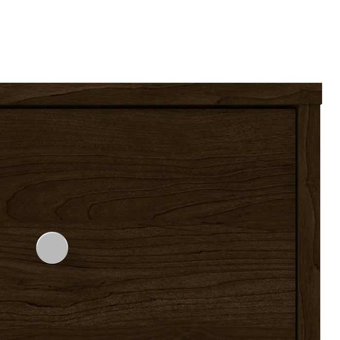 May Bedside Table 1 Drawer in Dark Walnut