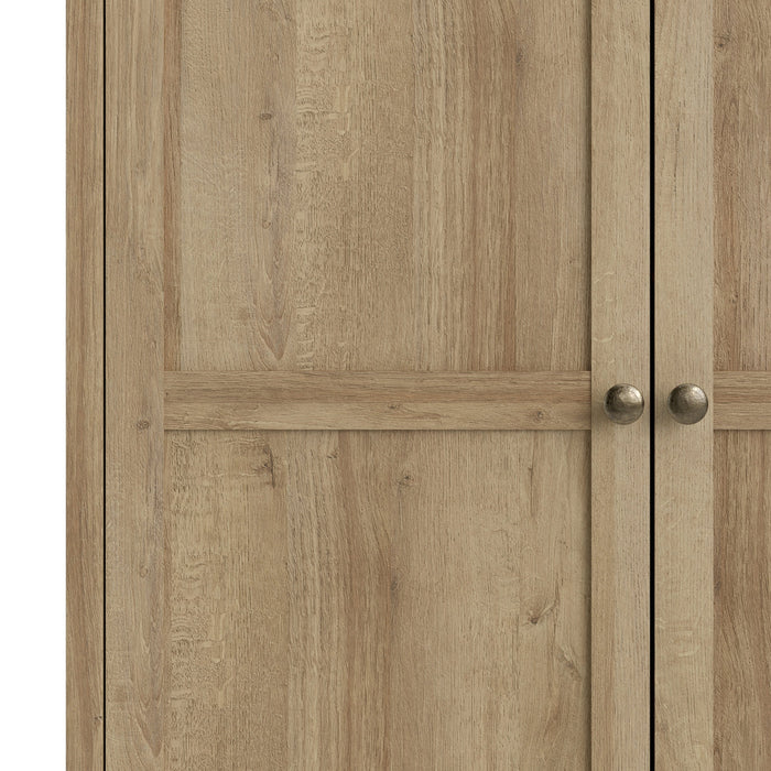 Silkeborg Wardrobe - 3 Doors in Riviera Oak