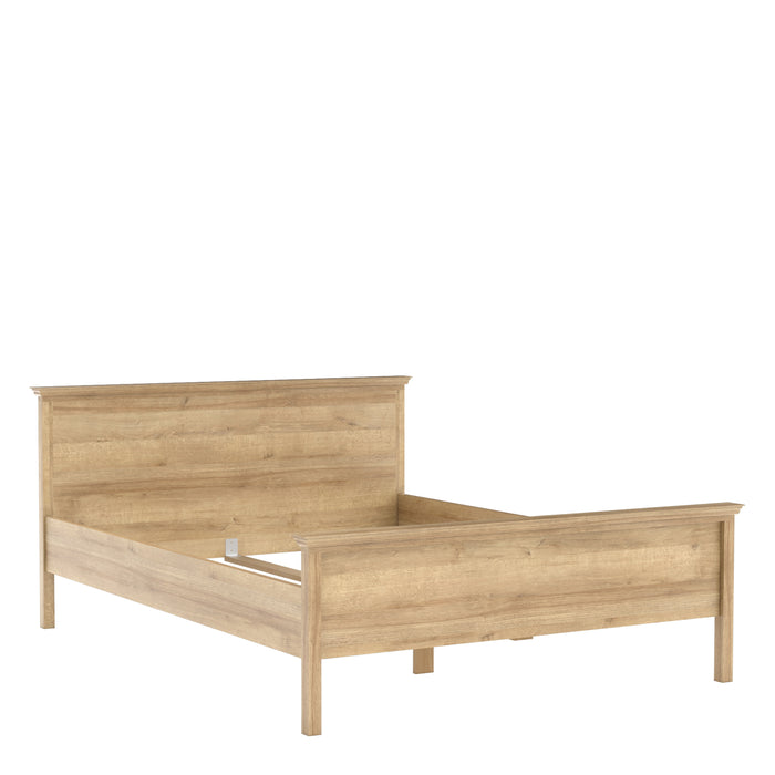 Silkeborg Double Bed 4ft6 (140 x 190) in Riviera Oak