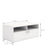 Napoli TV Unit 1 Drawer 2 Shelves in White