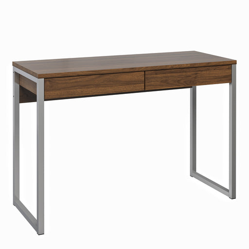 Function Plus Desk 2 Drawers in Walnut