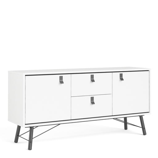 Ry Sideboard 2 doors + 2 drawers White