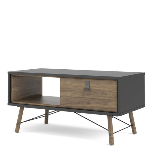 Ry Coffee table with 1 drawer Black Walnut