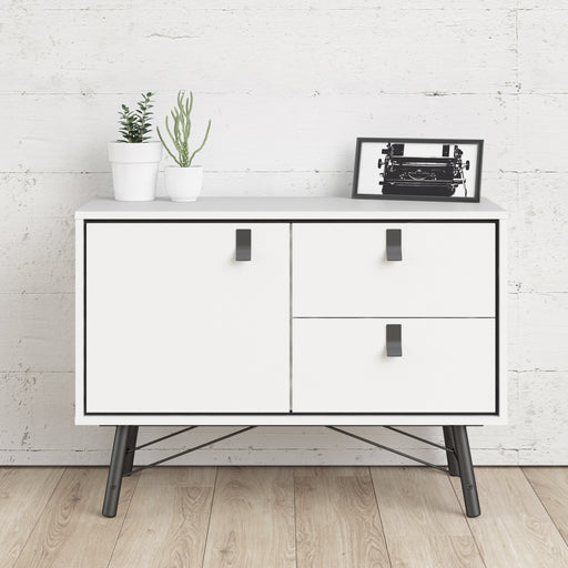 Ry Sideboard with 1 door + 2 drawers White