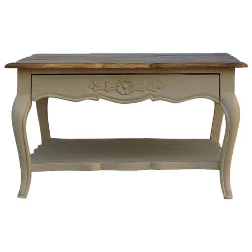 Amberly Carved Coffee Table