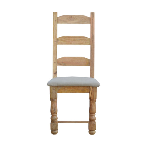 Granary Royale Dining Chair with Linen Seat Pad (Set of 2)
