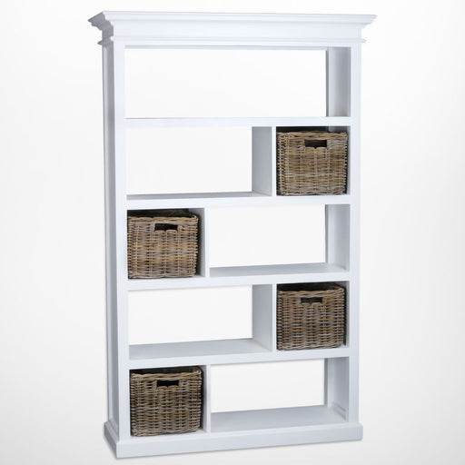 Halifax Room Divider with basket set