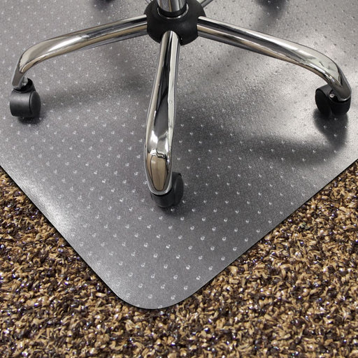 Lipped Studded Chair Mat for Carpet