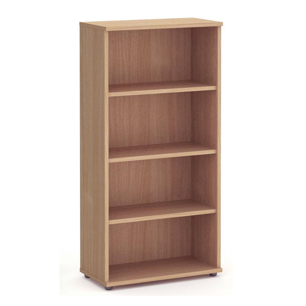 Aspire Book Case - 1600mm - 3 Shelf - Beech