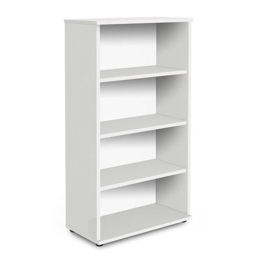 Aspire Book Case - 1600mm - 3 Shelf - White