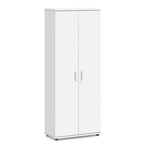 Aspire Cupboard - 2000mm - 4 Shelf -White