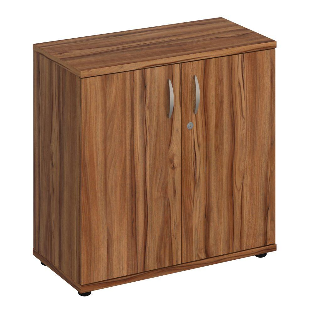 Aspire Cupboard - 800mm - 1 Shelf - Walnut