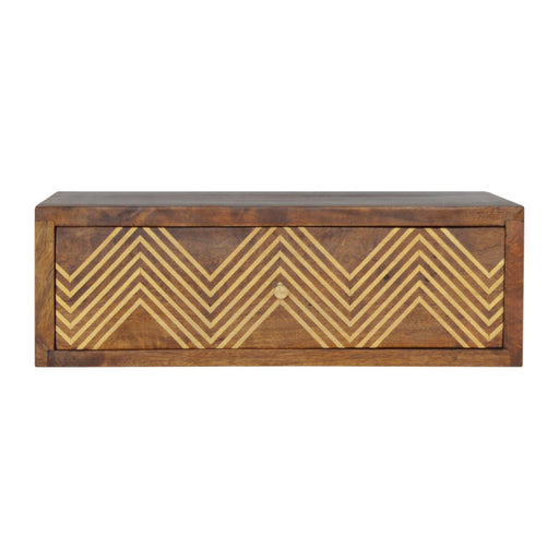 Wall Mounted Chevron Bedside