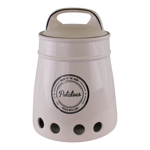Heart Of The Home Ceramic Potato Storage Pot