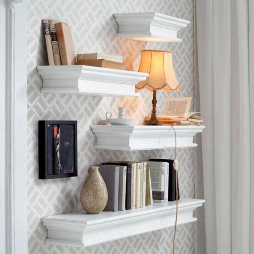 Halifax Floating Wall Shelf, Medium