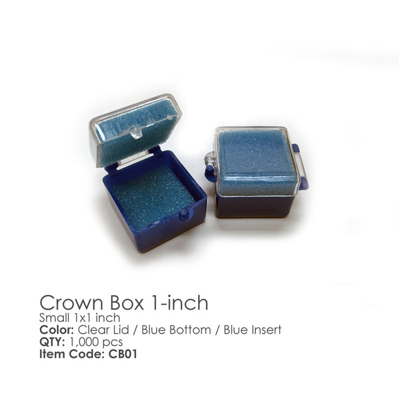 Besqual Crown Boxes 1000 PC. With Foam Fillers