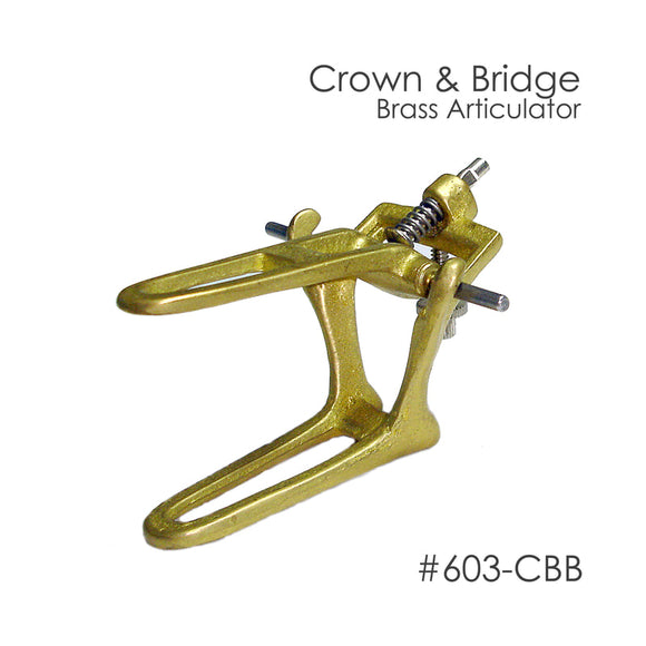 Besqual Crown & Bridge Brass Articulators: 12pk