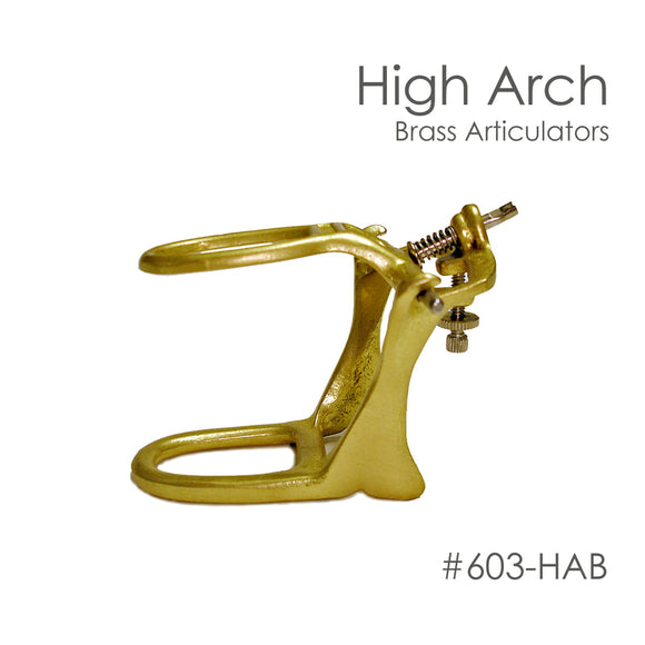 Besqual High Arch Brass Articulator: 12pk