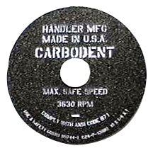 "Handler Carbo-Dent Replacement Wheels 10"" & 12 inch"