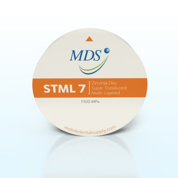 MDS Multi-Layer Super Translucent Zirconia Discs 98 mm - Full Contour