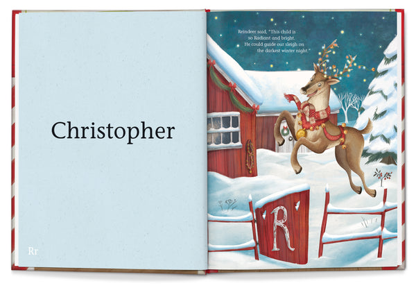 My Very Own Christmas (First/Last Name) Personalized Storybook