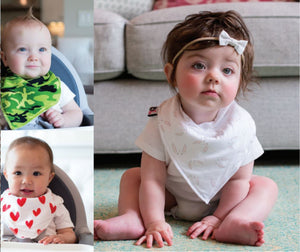 Fashionable Bandana Bibs