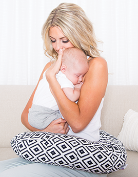Comfortable and Stylish Nursing Pillow