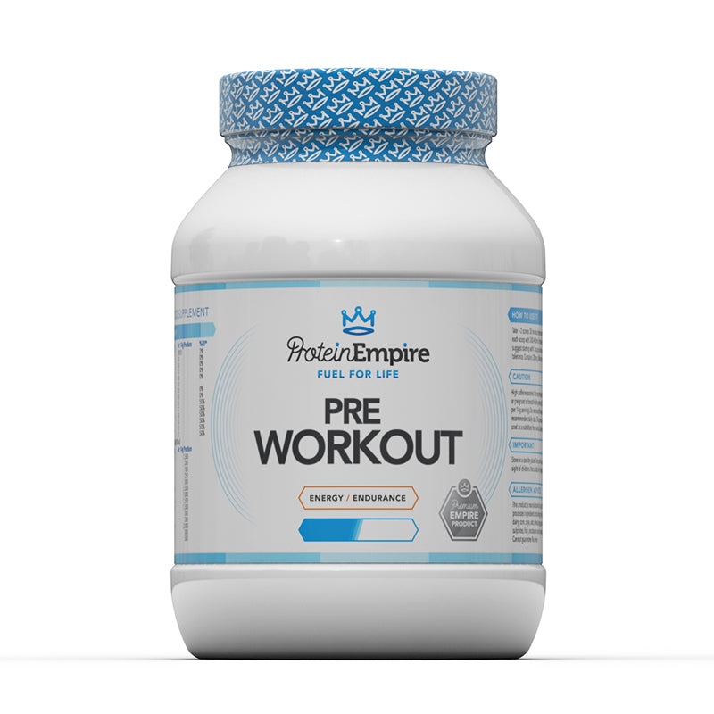 PRE-WORKOUT POWDER 500G BLUE RASPBERRY