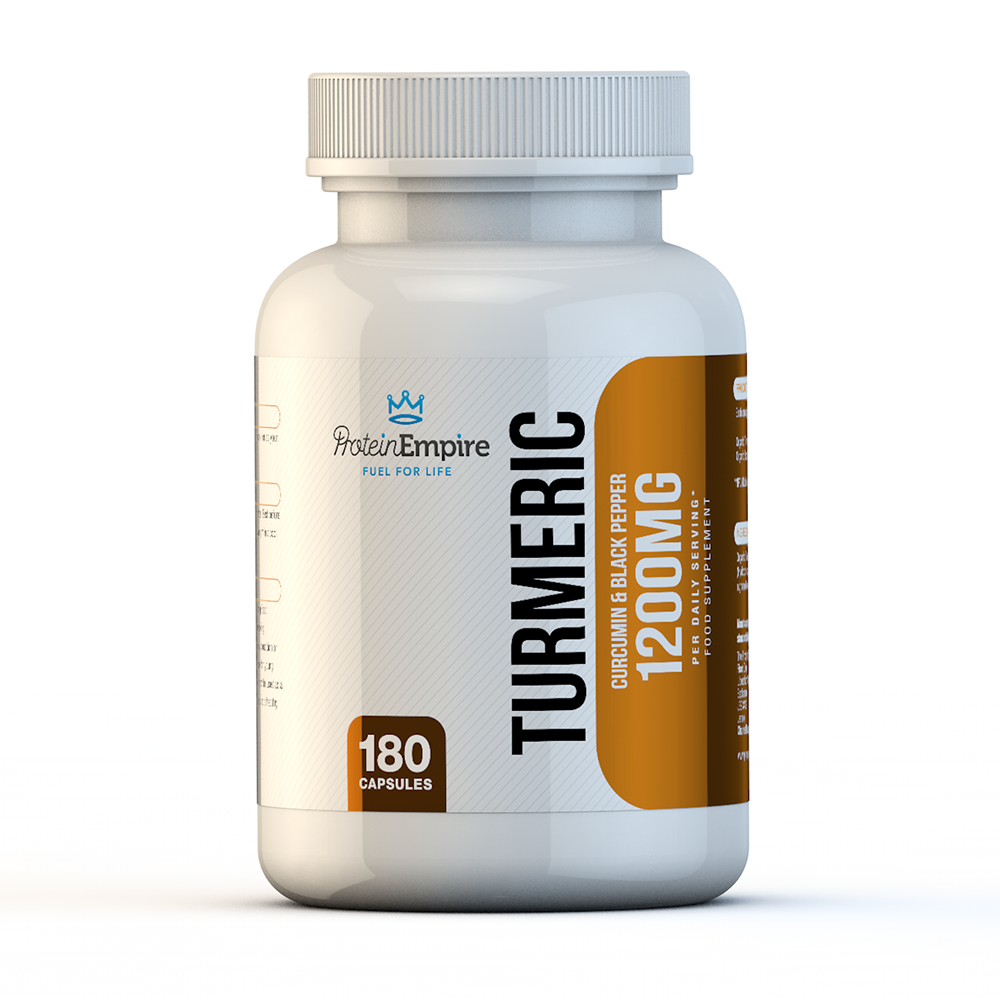 ORGANIC TURMERIC 1200MG 180 CAPSULES 3 MONTH SUPPLY