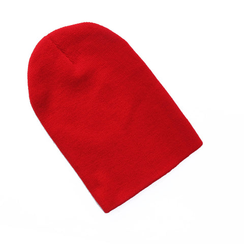 Red Oversized Beanie