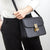 AVA Minimalist Box Shoulder Bag - Black