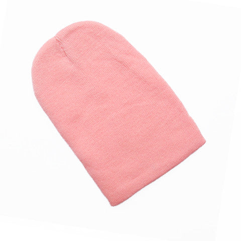 Pastel Pink Oversized Beanie