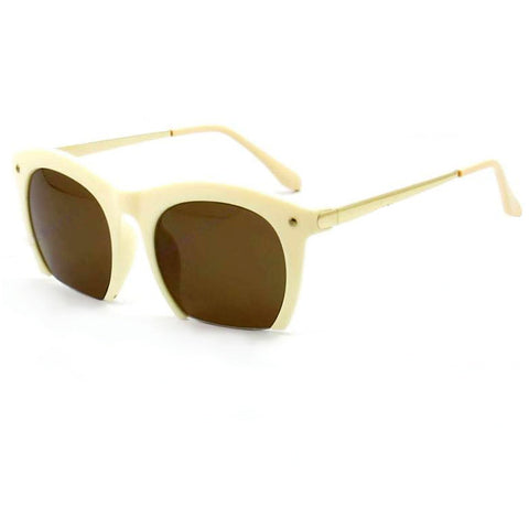Cut-Off Sunglasses - Beige