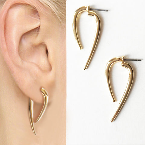 Double End Spike Earrings