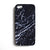 iPhone Case - Black Cracked Marble