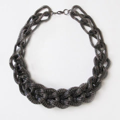 Cage Chain Link Necklace