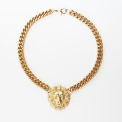 Lion Head Chain Necklace