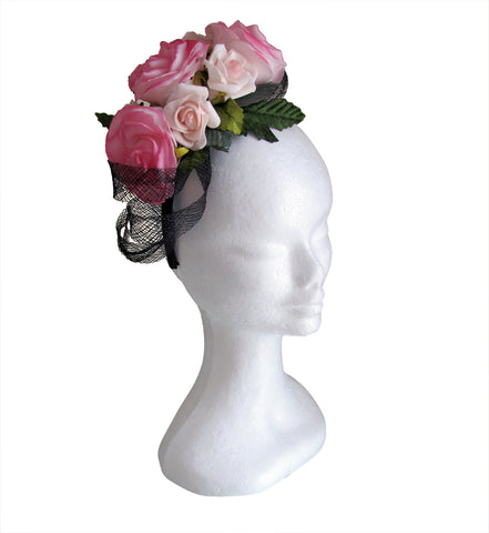SPANISH ROSE headpiece