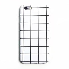 iPhone Case - GRID Matte White